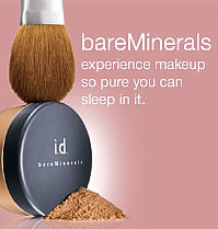 Bare Escentuals | Makeup so pure, you can sleep in it.